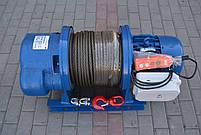 Лебедка электрическая KCD-HD (380В) 3000 кг