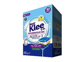 Таблетки для посудомоечных машин Herr Klee 30 шт