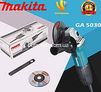 Болгарка Makita GA5030 угловая шлифмашина Макита 720вт 125 мм турбинка Макита
