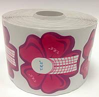Формы для наращивания ногтей цветок 500 шт., фото 1