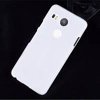 Пластиковый чехол для LG Google Nexus 5X белый