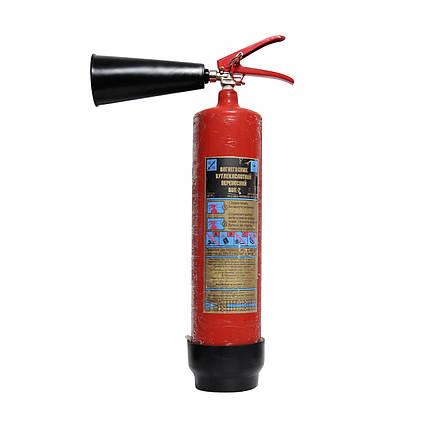 Огнетушитель углекислотный переносной ВВК-2/ОУ-3, фото 2