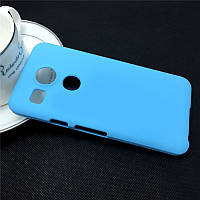 Пластиковый чехол для LG Google Nexus 5X голубой