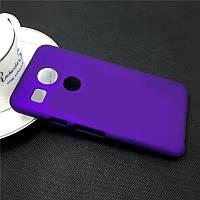 Пластиковый чехол для LG Google Nexus 5X фиолетовый