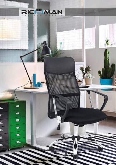 Кресло офисное Ультра Ultra крестовина Хром ТМ Richman