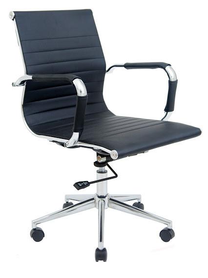 Офисное кресло БАЛИ ЛБ Bali LB Черный ТМ Richman
