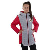 Куртка на дівчинку-підлітка весняна зростання 146-158