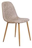 Барный стул Макао Мраморный бежевый Кожзам TM Richman