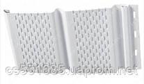 Софит Holzplast (Холтпласт) с перфорацией, белый 3,66х0,234м (0,856м2)