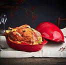 Emile Henry Форма для запекания курицы 41,5*27,5 (348444), фото 2