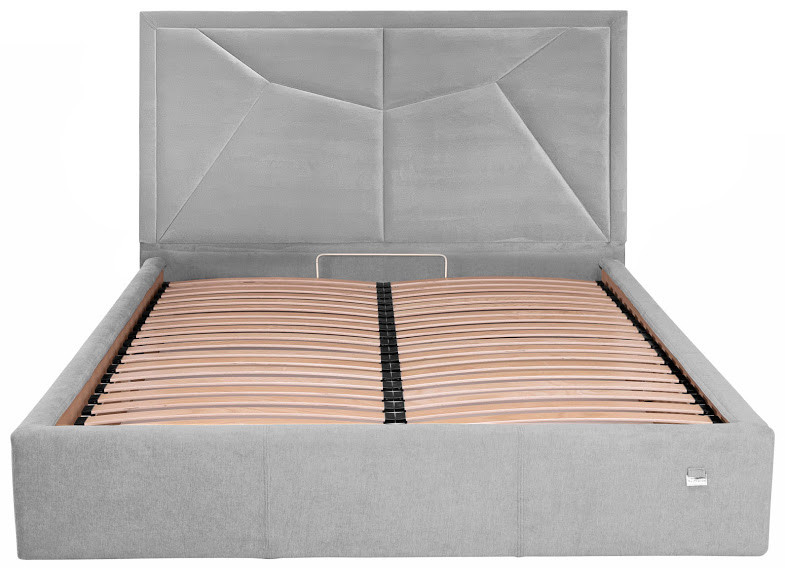 Двуспальная кровать с мягким изголовьем Монро ТМ Richman