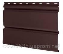 Софит Holzplast (Холтпласт) без перфорации, коричневый 3,66х0,234м (0,856м2)