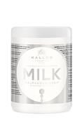 Маска для волос с молочным протеином Kallos KJMN  Milk Калос Милк, 1 л, Венгрия, фото 1