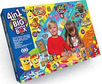 Набор для детского творчества своими руками big creative box 4 в 1 dankotoys (bcrb-01-01u)
