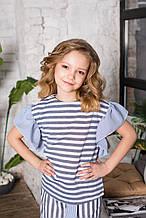 Детская блузка для девочки Colabear Турция 184592A Белый