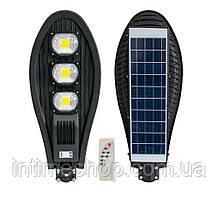 Уличный фонарь на солнечной батарее на столб UKC (ART7482) 330W, светильник с датчиком движения и пультом (TI)