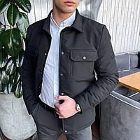 Мужская куртка IPO Pobedov (черная)