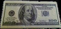 Салфетки 100 долларов 10 шт.