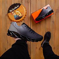 Чоловічі кросівки Ривал Спайс Pobedov (чорно-антрацит) 43, фото 3