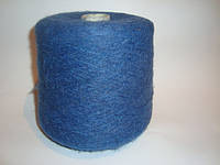 Мохер, синий цвет, Италия, вес 0.940