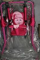 Качеля напольная Casper розовая