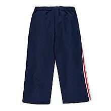 Детские брюки для девочки MEK Италия 191MIBH001 Синий
