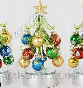 Новогоднее украшение Елочка с LED подсветкой, 15см - Нужные полезности в Одессе