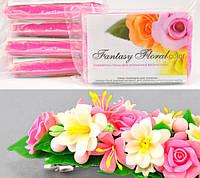 АКЦИЯ: 3 цвета (по 100 г) со скидкой. Холодный фарфор Fantasy Floral для реалистичных цветов