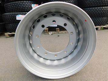 Диск колесный 22,5х11,75 10х335 ET0 DIA281 (SILA) Барабанный тормоз