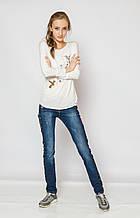 Демисезонные детские джинсы для девочки A-yugi Турция 9088 Синий