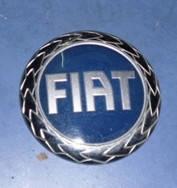 Значек эмблема синяяFiatDoblo2000-2009