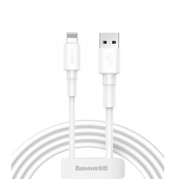 Кабель Lightning IPhone Baseus Mini 2.4A 1m White