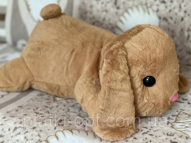 "Детский плед-игрушка ""Кролик"" (бежевый)"