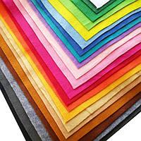 НОВОЕ пополнение фетра – ФЕТР мягкий 1.4 мм, 50х45 см, 22 цвета!