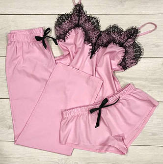 Пижамы тройка