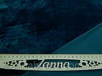 Стрейч-велюр (плюш) цвета морской волны