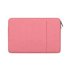 Чехол для ноутбука Lenovo 11-15 дюймов (ideapad та ін.) Розовый
