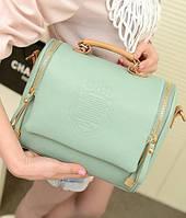 Стильная Модная винтажная женская сумка ,мятная, повседневная