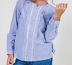 Детская рубашка для девочки TIFFOSI Португалия 11021835 Голубой