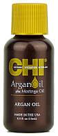 Масло увлажняющее для волос CHI Argan Oil Plus Moringa Oil 15 мл