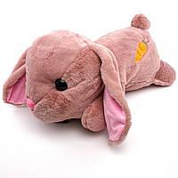 """Детский плед-игрушка """"Кролик"""" (розовый), фото 1"""