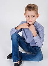Тонкие детские джинсы для мальчика MEK Италия 181MHBF001 Синий