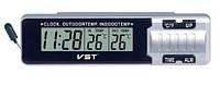 Автомобильные часы VST-7065 (+2 термодатчика)