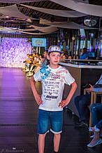 Детские Стильные Повседневные джинсовые шорты для мальчика TIFFOSI Португалия 10020880 Синий 116-128 см