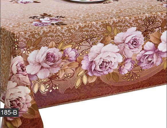 Скатерть отрезная Розы на вашей кухне