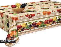 Скатерть клеёнка c фруктами для стола на кухню