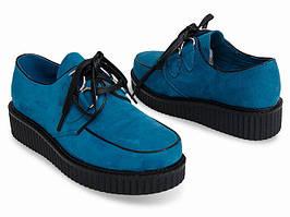 Женские криперсы весенние, туфли