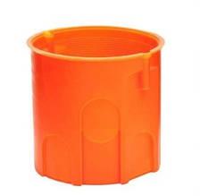 Коробка монтажная бетон/кирпич не наборная глубокая без шурупов полипропилен 650°С самозатухающая SMARTBOX