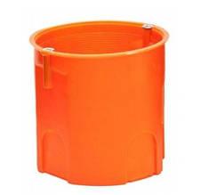 Коробка монтажная бетон/кирпич не наборная глубокая с шурупами полипропилен 650°С самозатухающая SMARTBOX