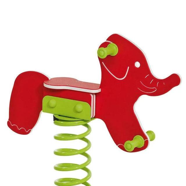Гойдалки дитячі на пружині Слоник КВТ Бельгія для дитячого майданчика (Гойдалки для дітей)